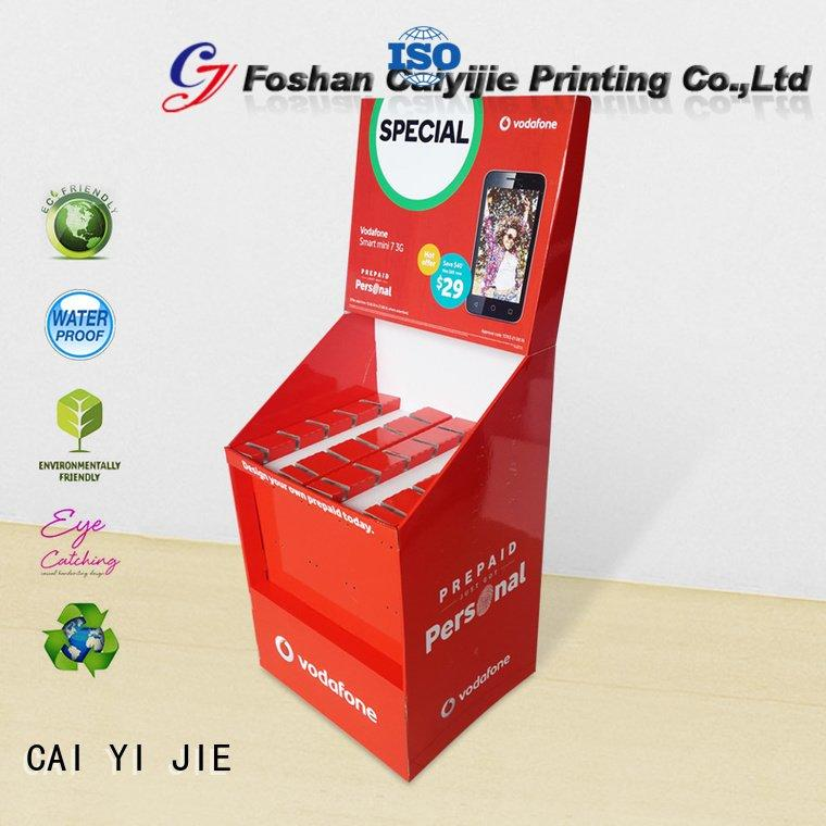 stands printing counter hook display stand CAI YI JIE