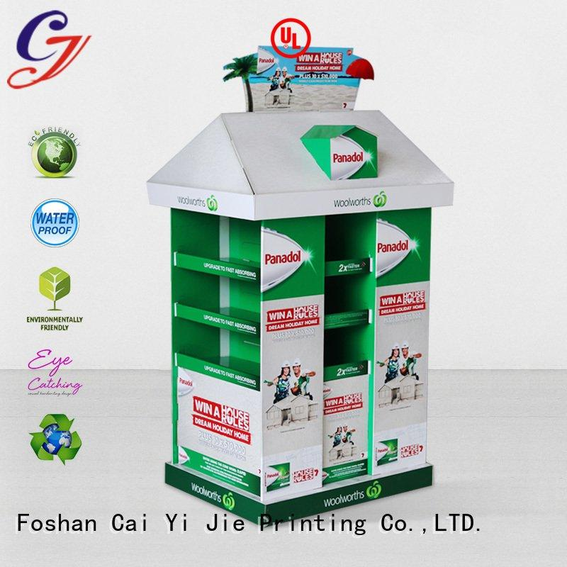 cardboard pallet display pallet cardboard pallet display CAI YI JIE Brand