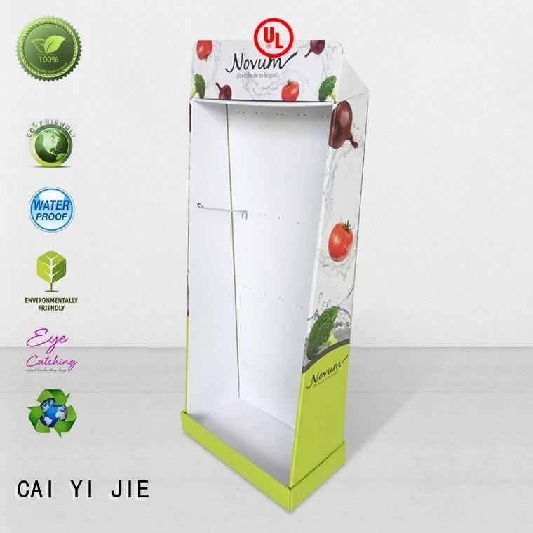 CAI YI JIE cardboard display units stands