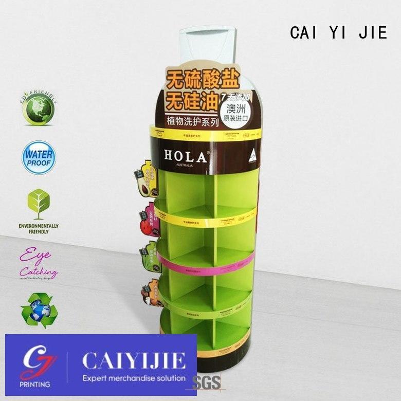 Quality CAI YI JIE Brand corrugated cardboard stand