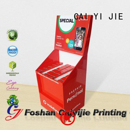 sale hook display stand printing advertising CAI YI JIE