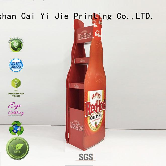 special cardboard table display stands cardboard CAI YI JIE