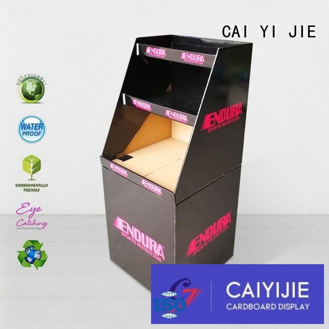 CAI YI JIE best quality cardboard dump bin displays daily
