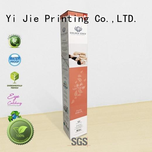customization counter display box for milk display CAI YI JIE