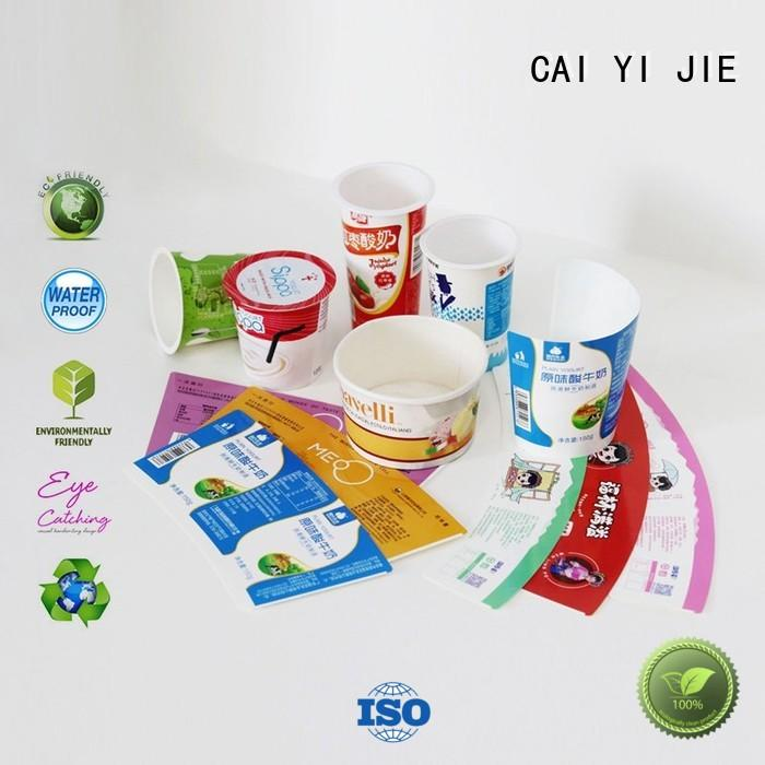 CAI YI JIE custom packaging boxes paper for cup display