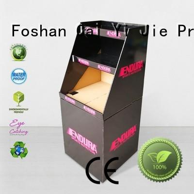 cardboard dump bins for retail merchandising cardboard CAI YI JIE Brand
