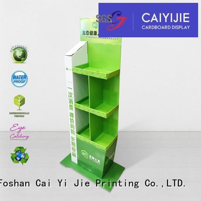 CAI YI JIE Brand large cardboard stand tube factory