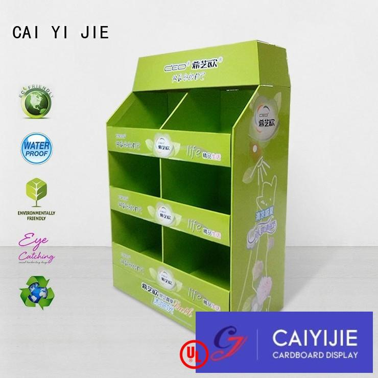 CAI YI JIE cardboard pallet boxes with lids woolworths for shop
