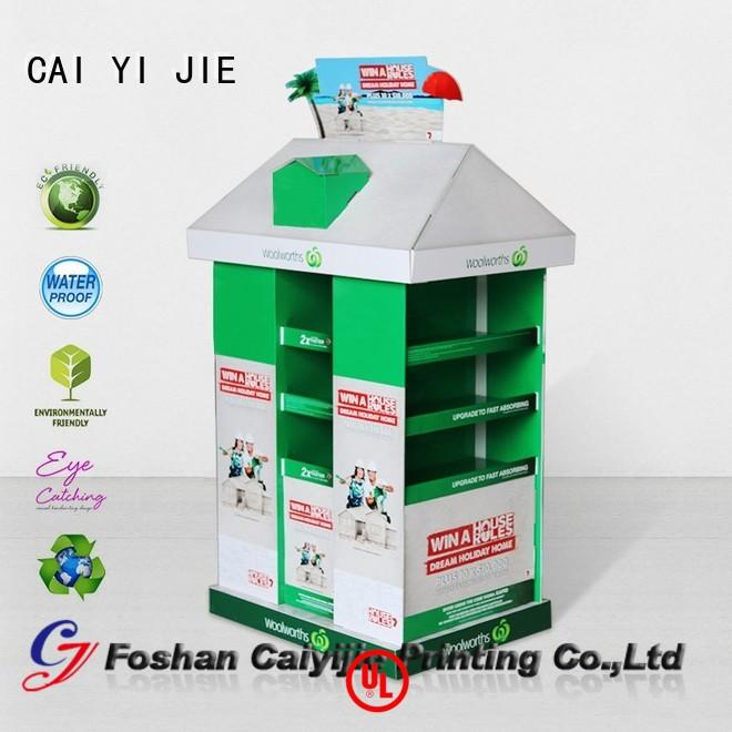 CAI YI JIE square cardboard pallets uk for chain store