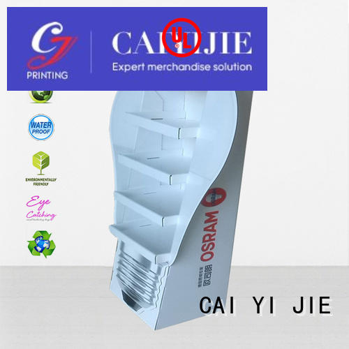 point of sale display printed for cabinet CAI YI JIE