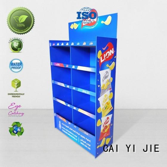 heavy cardboard pop up displays chip for promotion