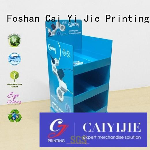 Wholesale clip cardboard greeting card display stand stand CAI YI JIE Brand