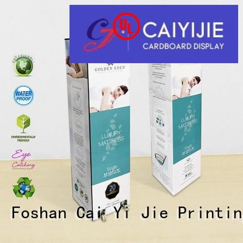 counter display boxes cardboard customization for retail CAI YI JIE