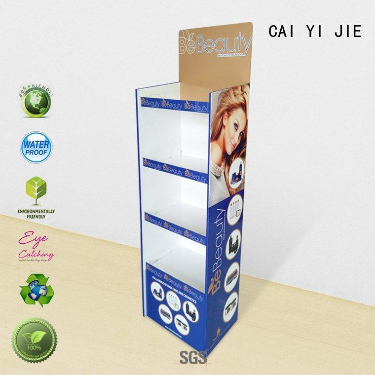 Wholesale printing cardboard cardboard stand CAI YI JIE Brand