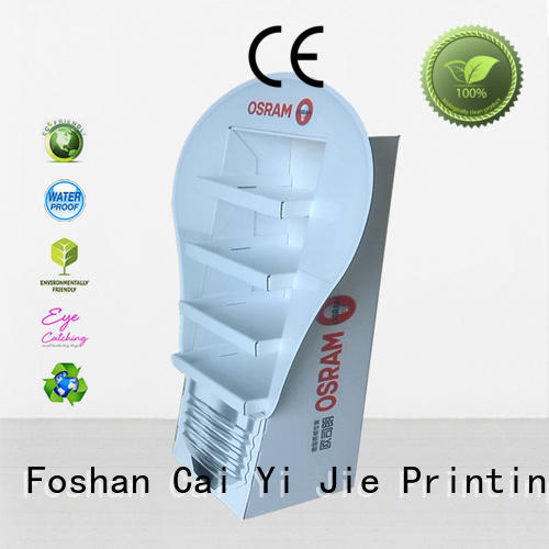 floor display retail for milk CAI YI JIE