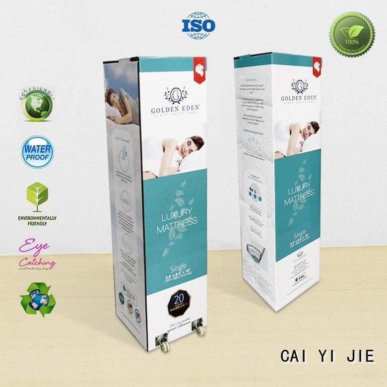 CAI YI JIE custom cardboard boxes for yogurt display