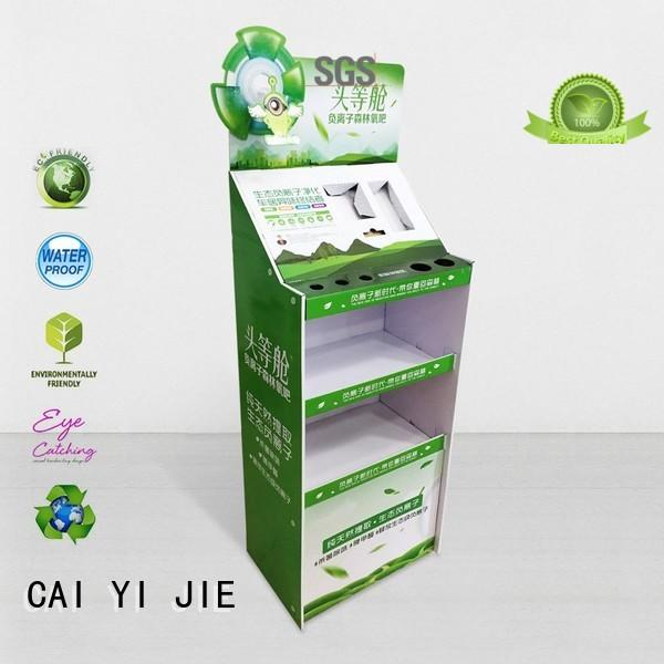 CAI YI JIE point of sale display layers for kitchen supplies