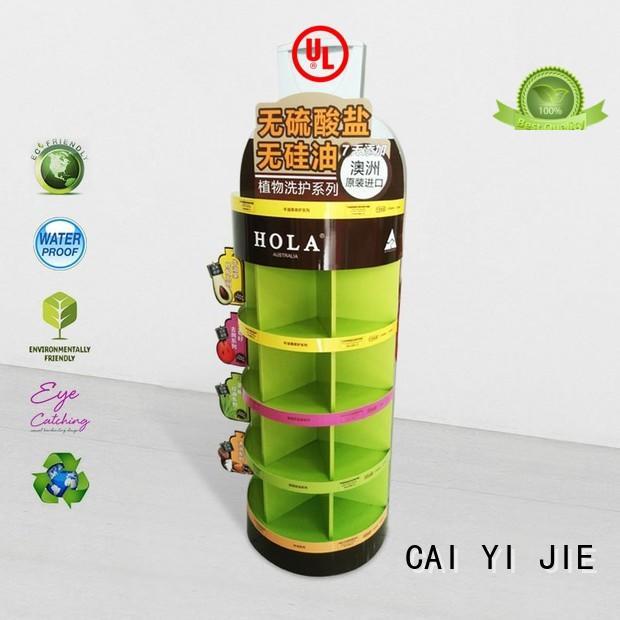 CAI YI JIE Brand printing printed cardboard cardboard stand