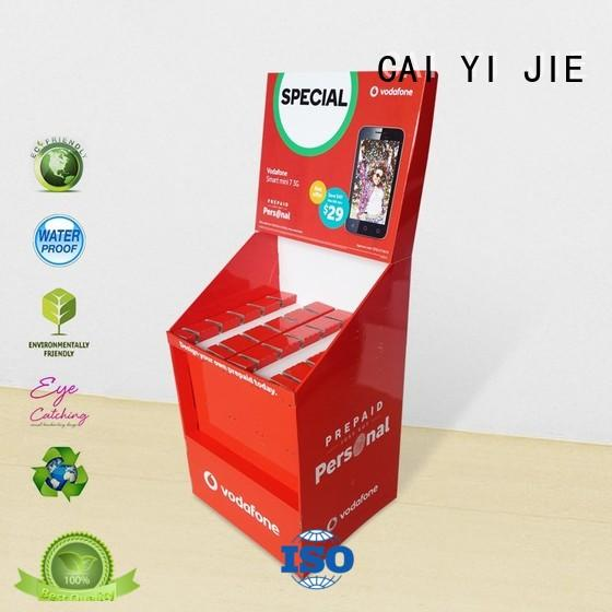 CAI YI JIE cheap product display stands wholesale for supermarket