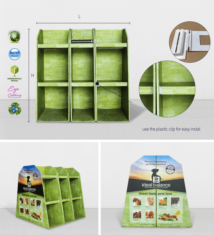 CAI YI JIE corrugated pallet display product for chain store-2