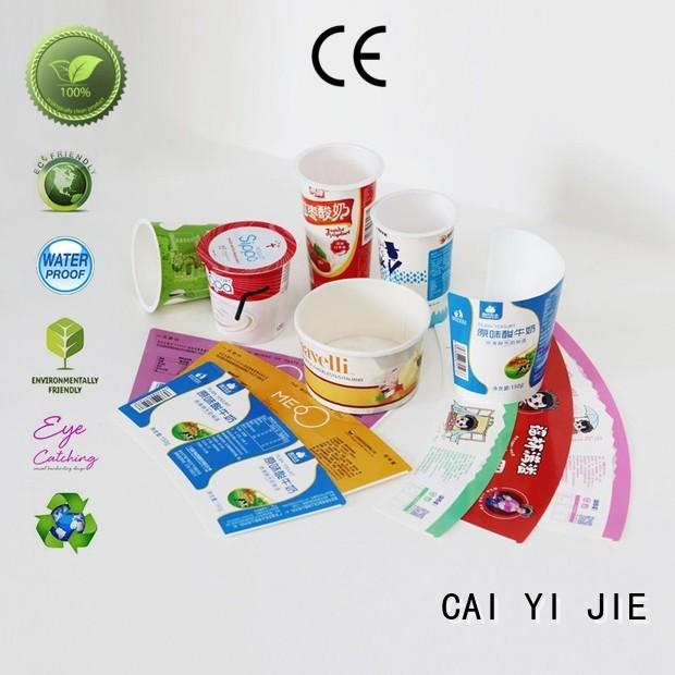 extra printed cardboard boxes for cup display CAI YI JIE