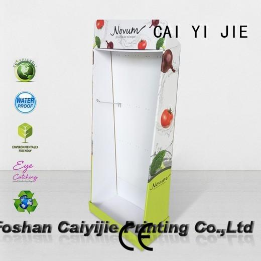 CAI YI JIE cardboard display units lamp fordrink