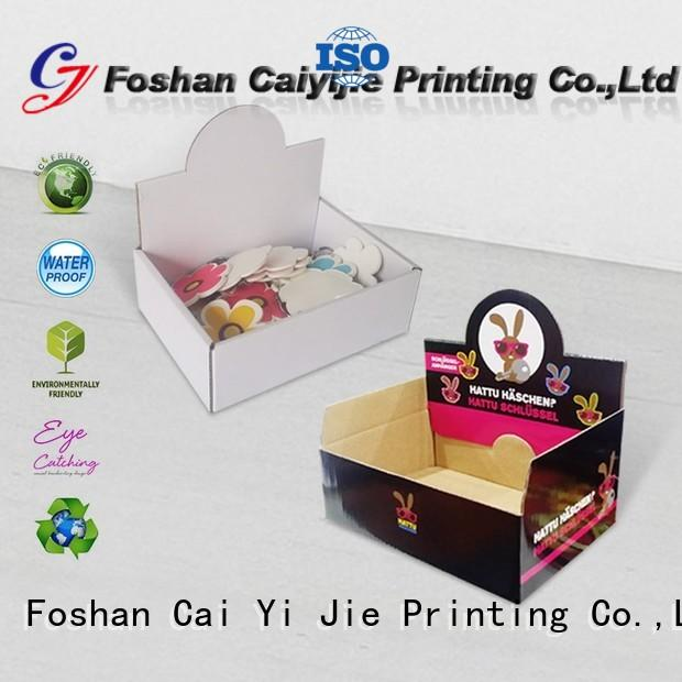 CAI YI JIE commodity display packaging boxes factory price for marketing