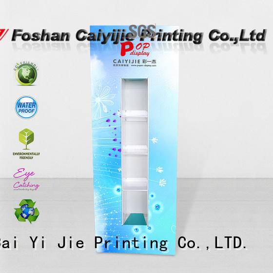 CAI YI JIE display totem wholesale for promotion