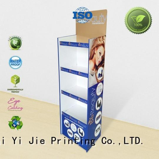 CAI YI JIE modeling cardboard retail display stands soft for foods