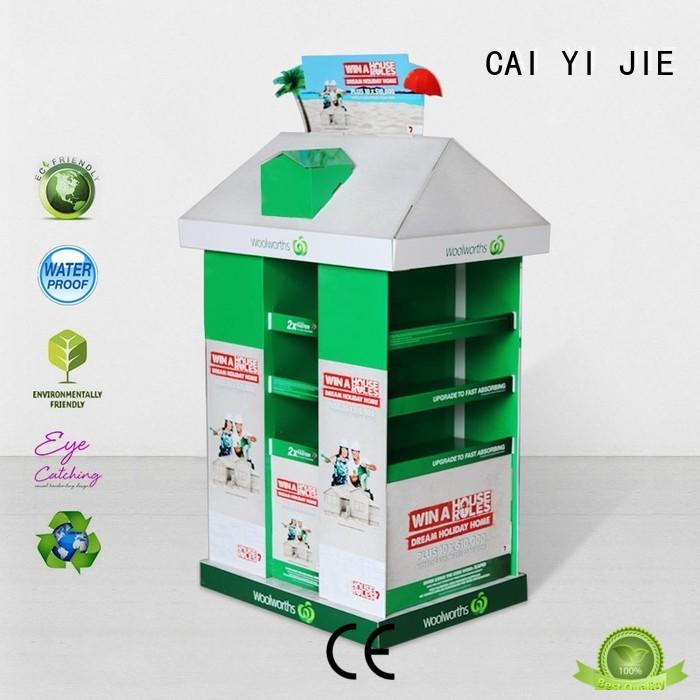 CAI YI JIE pallet cardboard product for shop