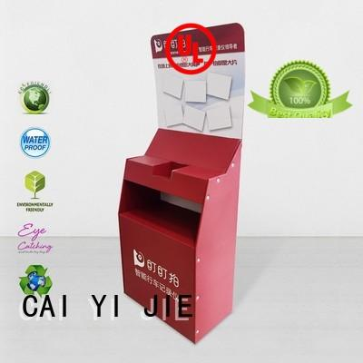 cardboard box stand special for foods CAI YI JIE