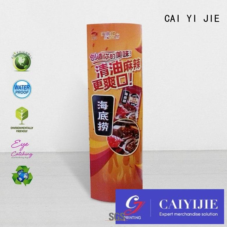 CAI YI JIE universal lama standee inquire now for marketing