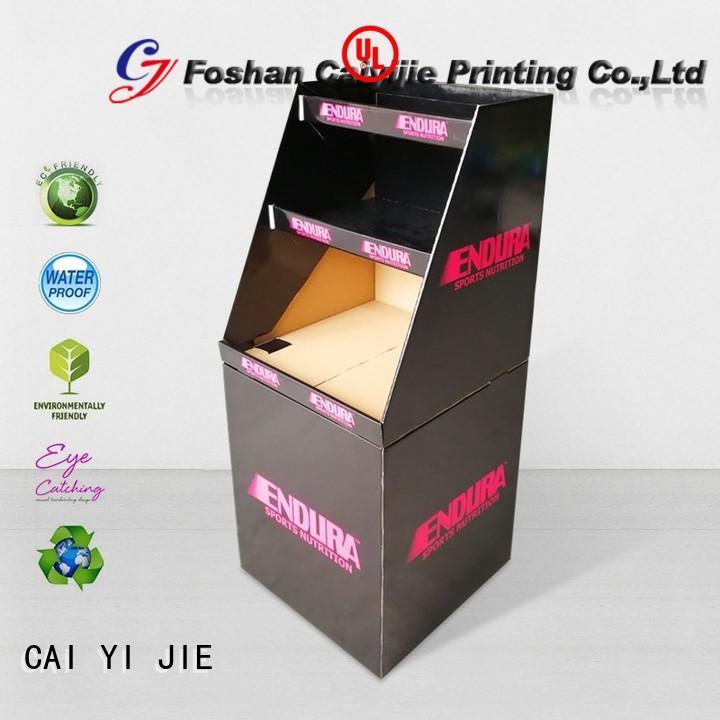 CAI YI JIE cardboard dump bins dumpbin for merchandising