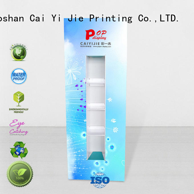 CAI YI JIE display totem durable for marketing