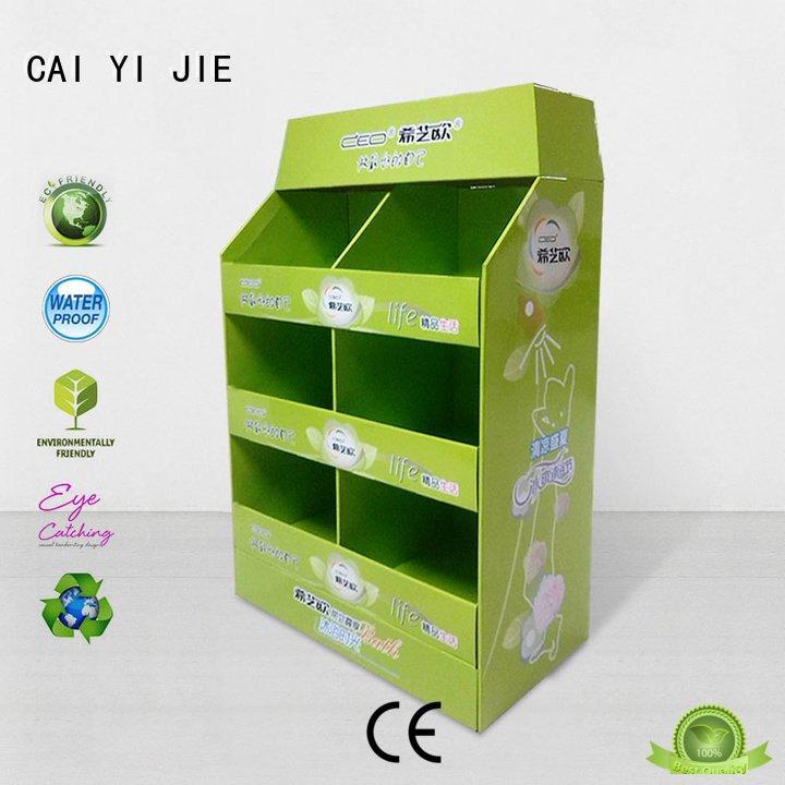 stands sales carton pallet display CAI YI JIE