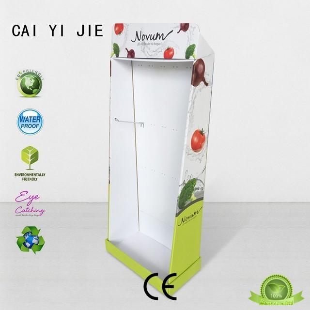 CAI YI JIE multifunctional cardboard display units for store