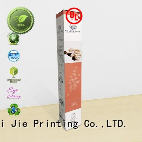 high-end cardboard box manufacturers color printing for cup display