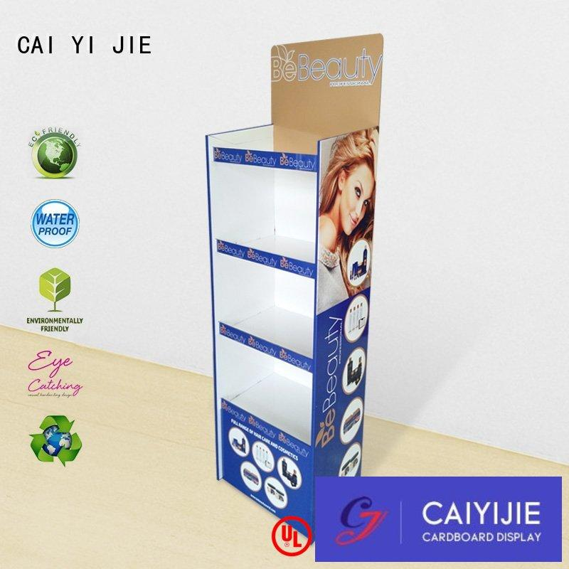 stairglossy large cardboard stand cardboard CAI YI JIE Brand