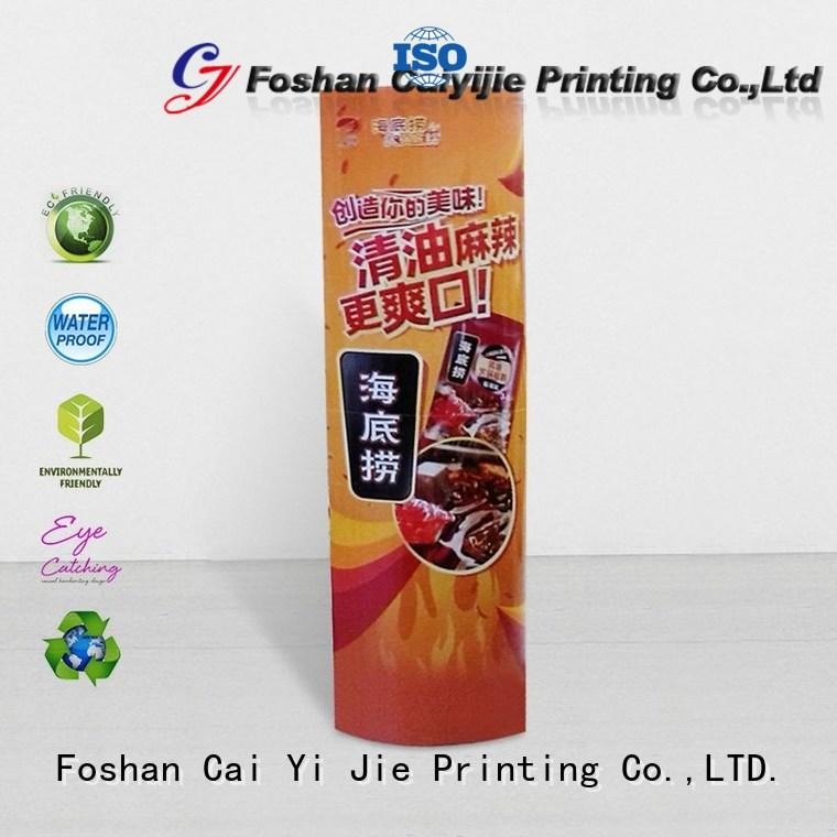 CAI YI JIE custom lama point of sale durable for goods