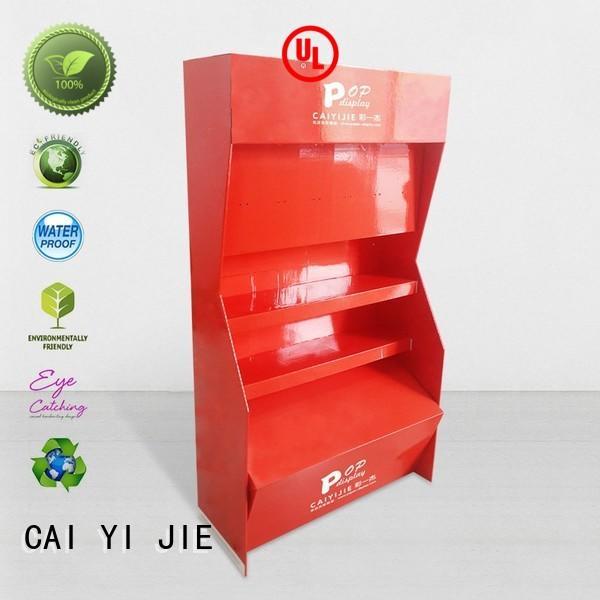 CAI YI JIE Brand sale promotional uv cardboard greeting card display stand