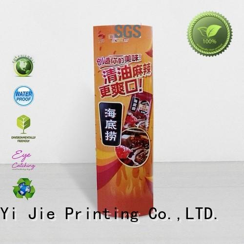 CAI YI JIE advertising lama standee durable for goods