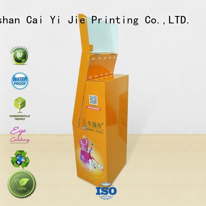 CAI YI JIE ODM hook display stand factory for perfume