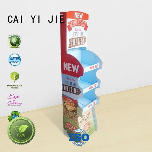 CAI YI JIE plastic cardboard display units