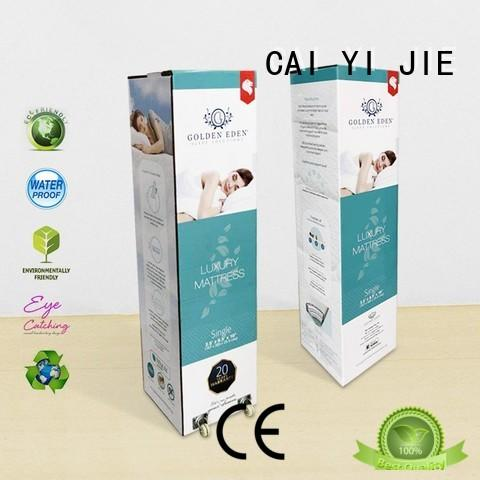 CAI YI JIE printed cardboard boxes for yogurt display