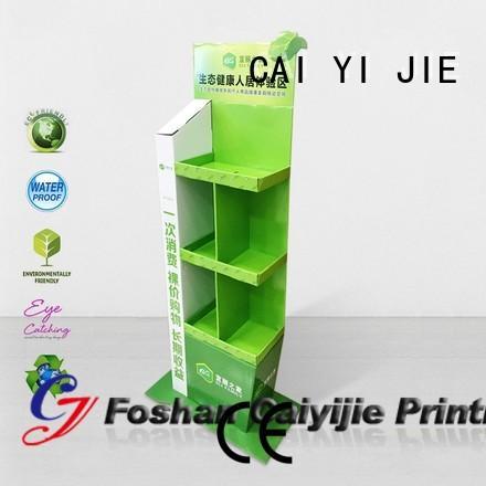 custom display stair for beer CAI YI JIE
