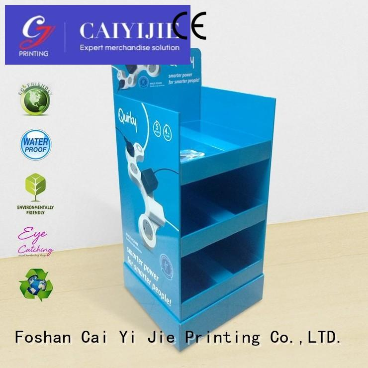 Quality CAI YI JIE Brand cardboard greeting card display stand products