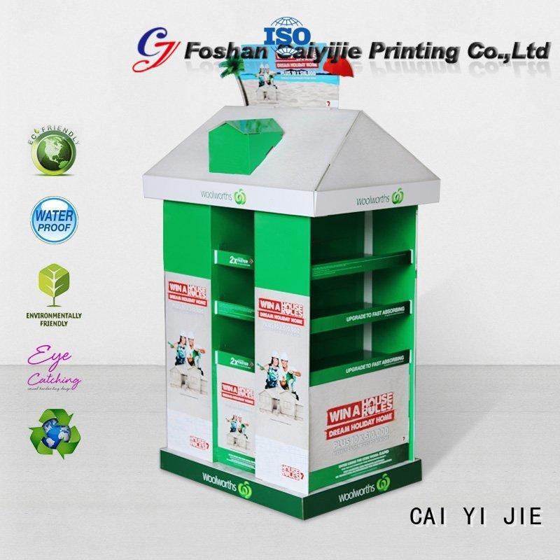 marketing pallet cardboard cardboard display for chain store