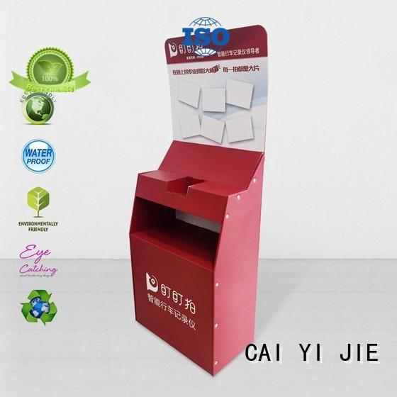 CAI YI JIE cardboard retail display for store