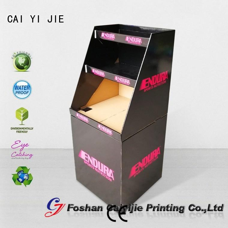 CAI YI JIE latest newspaper dump bins for retail product