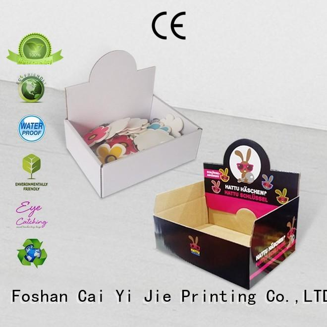 custom cardboard counter displays chain marketing cardboard display boxes manufacture